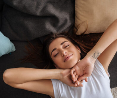 donna rilassata
